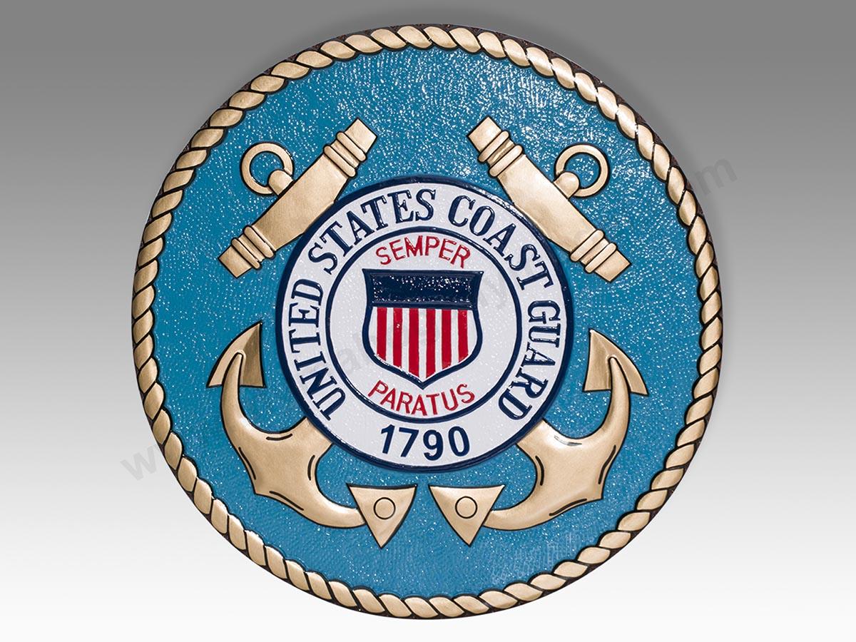 United States Coast Guard Plaque Or Seal